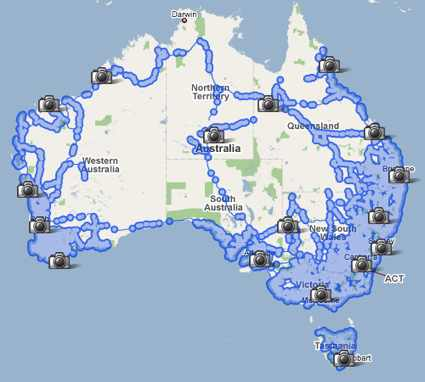 map of australia with cities. View Larger Map. ozsv.jpg