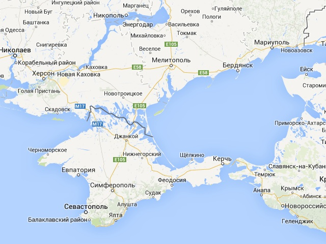Ogle earth notes on the political social and scientific impact of ukrainian google maps crimea is part of ukraine the line defining crimea light gray and dashed it is the same kind of line demarcating other ukrainian gumiabroncs