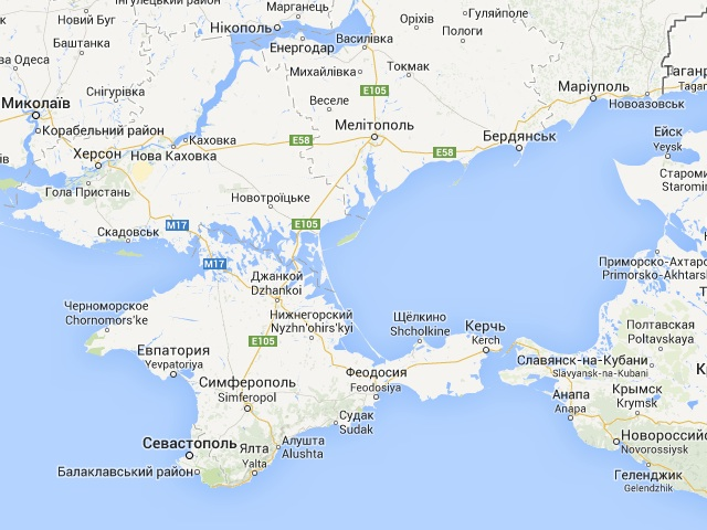 What does Crimea tell us about Google Ogle Earth